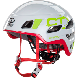 ORION Helmet - size 50-56 cm light grey / red