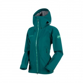 Masao HS Hooded Jacket Women teal.S