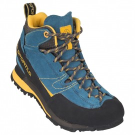Boulder X Mid, blue yellow, 39