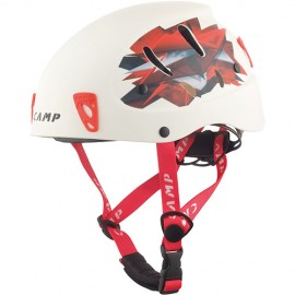 ARMOUR, 50-57 cm - White / Red