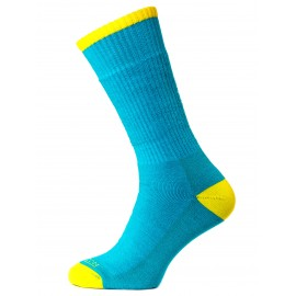 Merino Trek, Bright Teal Marl / Yellow, 39-42