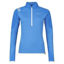 Bockmattli Ls Tech Shirt W, Cobalt Blue, L