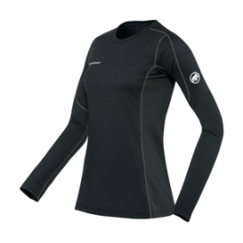 Go Warm Longsleevel Women, black / S