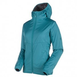 Runbold Advanced IN Hooded Jacket Women, aqua / L